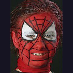 Ansigtsmaling - Spider-Man