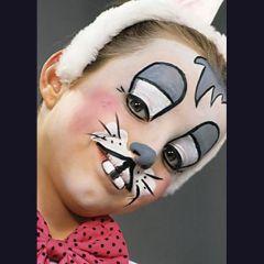 Ansigtsmaling - Kanin