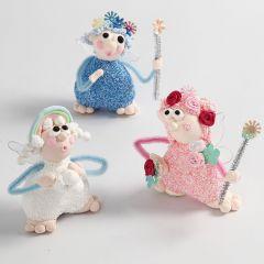 Alfer modelleret af Silk Clay og Foam Clay