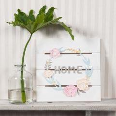 Blomsterkrans af Silk Clay og Silk Clay Creamy