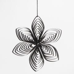 Quilling blomst af papirstrimler lavet med quillingkam