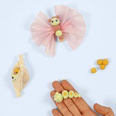 Modeller en sommerfugls livscyklus med Silk Clay