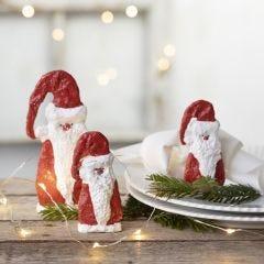 Julemand af gips på skabelon