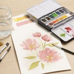 Akvarel for begyndere: Lær at male med akvarel