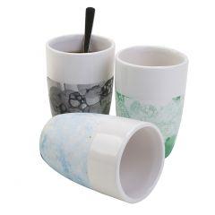 Keramik med boble teknik