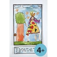 Akvarel i børnehøjde