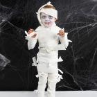 Mumie kostume til Halloween