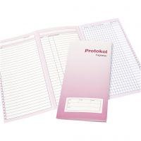 Mødeprotokol faglærer Protokol med 28 navne, 1 stk.