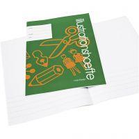 Illustrationshæfte , A4, str. 21x29,7 cm, 32 , 25 stk./ 1 pk.