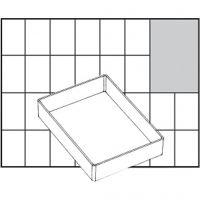Basisindsats, nr. A71 Low, H: 24 mm, str. 109x79 mm, 1 stk.