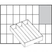 Basisindsats, nr. A73 Low, H: 24 mm, str. 109x79 mm, 1 stk.
