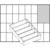 Basisindsats, nr. A75 Low, H: 24 mm, str. 109x79 mm, 1 stk.