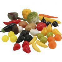 Frugt- og grøntsæt, 36 stk./ 1 sæt