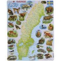 Puslespil Sverige, 1 stk.