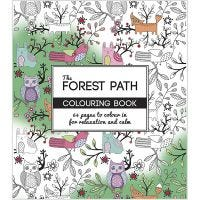 Mindfulness malebog, The Forest Path, str. 19,5x23 cm, 64 , 1 stk.