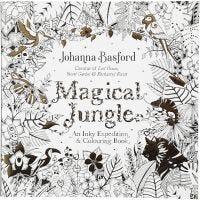 Mindfulness malebog, Magical Jungle, str. 25x25 cm, 80 , 1 stk.
