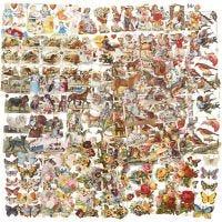 Glansbilleder, helårs, 16,5x23,5 cm, 30 ark/ 1 pk.