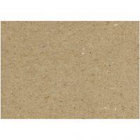 Kvistkarton, 46x64 cm, 225 g, grå brun, 125 ark/ 1 pk.