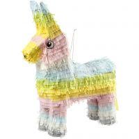 Piñata, str. 39x13x55 cm, pastelfarver, 1 stk.