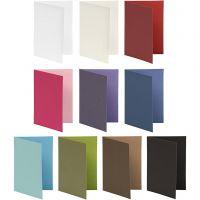 Brevkort, kort str. 10,5x15 cm, Indhold kan variere, 250 g, ass. farver, 30 pk./ 1 pk.