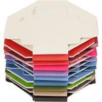 Colorful bokse, str. 5,5x5,5 cm, 250 g, 100 stk./ 1 pk.