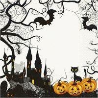 Servietter, Halloween, str. 33x33 cm, 20 stk./ 1 pk.