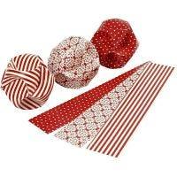 Click ornamenter, diam. 5 cm, str. 3,5x8,8 cm, 9 sæt/ 1 pk.