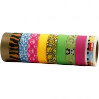 Masking Tape, B: 15 mm, 10x10 m/ 1 pk.