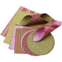 Origamipapir, 80 g, 900 ass. ark/ 1 pk.