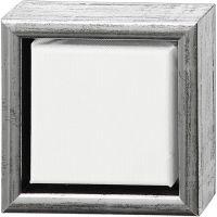 ArtistLine Canvas med ramme, dybde 3 cm, str. 14x14 cm, 360 g, hvid, 6 stk./ 1 pk.
