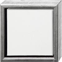 ArtistLine Canvas med ramme, dybde 3 cm, str. 19x19 cm, hvid, 6 stk./ 1 pk.