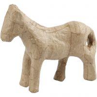 Hest, H: 12 cm, 1 stk.
