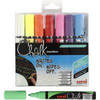 Chalk Marker, streg 1,8-2,5 mm, 8 stk./ 1 pk.