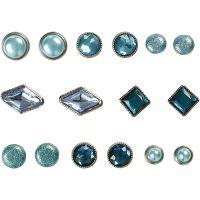 Dekonitter, str. 8-18 mm, blå, 16 stk./ 1 pk.