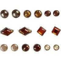 Dekonitter, str. 8-18 mm, brun, 16 stk./ 1 pk.