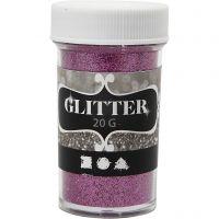 Glitter, pink, 20 g/ 1 ds.