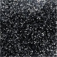 Bio-glimmer, diam. 0,4 mm, sort, 10 g/ 1 ds.