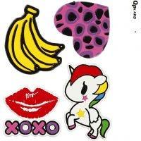 Soft Stickers, XOXO, 12,2x17,75 cm, 1 ark