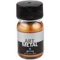 Hobbymaling metallic, antik guld, 30 ml/ 1 fl.