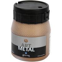 Hobbymaling metallic, antik guld, 250 ml/ 1 fl.