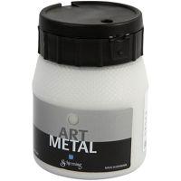 Hobbymaling metallic, sølv, 250 ml/ 1 fl.