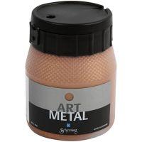 Hobbymaling metallic, kobber, 250 ml/ 1 fl.