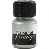 Hobbymaling metallic, perlegrøn, 30 ml/ 1 fl.