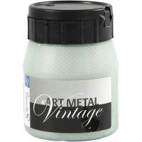 Hobbymaling metallic, perlegrøn, 250 ml/ 1 fl.