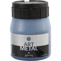Hobbymaling metallic, galaxy blå, 250 ml/ 1 fl.