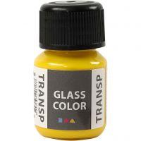 Glass Color Transparent, citrongul, 30 ml/ 1 fl.