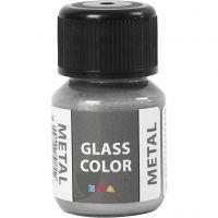 Glass Color Metal, sølv, 30 ml/ 1 fl.