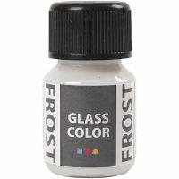 Glass Color Frost, hvid, 30 ml/ 1 fl.