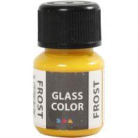 Glass Color Frost, gul, 30 ml/ 1 fl.