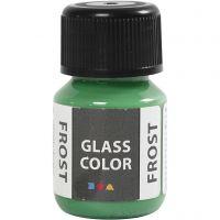 Glass Color Frost, grøn, 30 ml/ 1 fl.